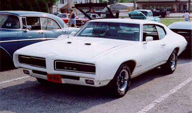 1969 Pontiac GTO Production Figures and Specifications